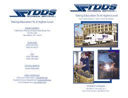 100 Tdds Truck Driving School Student Catalog TDDS Technical Institute