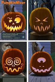 Easy Mike Wazowski Pumpkin Carving Template by Photos For Ideas Only Four Easy Ideas For Pumpkin Faces