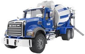 Bruder Mack Granite Cement Mixer | Toy Galaxy