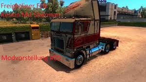 Freightliner FLB Reskin Mit Sherman Bros Modvorstellung American ...