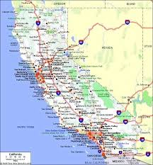 Counties In County Map Interstate Southern California