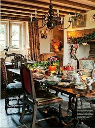 from country home magazine cottage dining rooms
