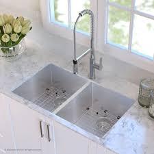 33x22 Stainless Steel Kitchen Sink Undermount by Stainless Steel Kitchen Sinks Kraususa Com