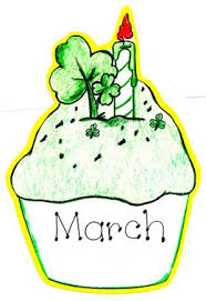 March Birthday Clipart