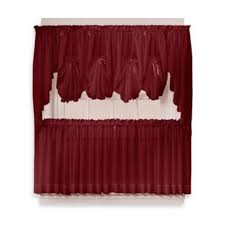 Bed Bath And Beyond Curtains And Valances by Buy Burgundy Curtains From Bed Bath U0026 Beyond