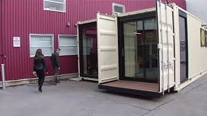 100 Shipping Containers San Francisco SF Startup Leases Office Space In Shipping Containers