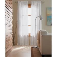 chiffon sheer curtain panel threshold target