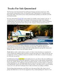 100 Used Service Trucks For Sale Queensland By Orhengineering Issuu