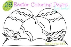 Easter Coloring Pages For Kids Printable 09