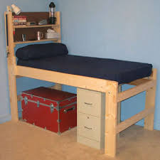 Platform Beds Solid Wood All Sizes High Riser Bed 1000 Lbs Wt