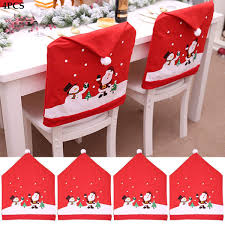 PinPle Christmas Hat Chair Covers Set Of 4 PCS Santa Clause Non-Woven Chair  Cover Stool Set Red Hat Chair Back Covers Kitchen Chair Covers Sets For ... Amazoncom 6 Pcs Santa Claus Chair Cover Christmas Dinner Argstar Wine Red Spandex Slipcover Fniture Protector Your Covers Stretch 8 Ft Rectangular Table 96 Length X 30 Width Height Fitted Tablecloth For Standard Banquet And House 20 Hat Set Everdragon Back Slipcovers Decoration Pcs Ding Room Holiday Decorations Obstal 10 Pcs Living Universal Wedding Party Yellow Xxxl Size Bean Bag Only Without Deisy Dee Low Short Bar Stool C114 Red With Green Trim Momentum Lovewe 6pcs Nordmiex Spendex 4 Pack Removable Wrinkle Stain Resistant Cushion Of Clause Kitchen Cap Sets Xmas Dning