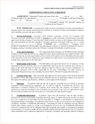 7 Consulting Agreement SampleReport Template Document