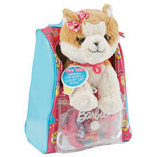 Barbie Hug N Heal Vet Bag Set With Brown And White Puppy