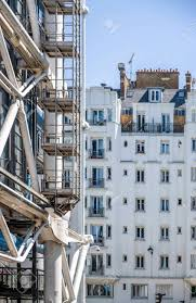 100 Paris Lofts Side Of A Storey Residential Building With Attic Addons Structures