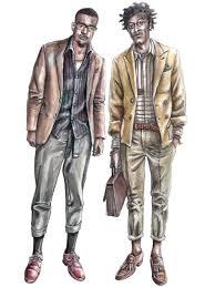 Drawn Fashion Person 7