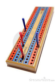 Cribbage Board Clipart 1