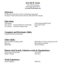 Resume Example No Experience Samples With Template Work New