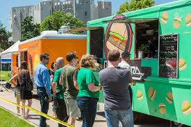 Denver, Colorado, USA-June 9, 2016. Food Trucks At The Civic.. Stock ... Food Truck Row Creating Culinary Excitement Whever We Go Saj Mediterrean Grill Denver Trucks Roaming Hunger Wedding Catering In From Crock Spot R U Cereal Colorado Happycow Five More To Stalk This Summer Eater Rock N Lobster Roll On Twitter Join Us Epicbrewingden An Hour Democrats Troll Donald Trump With A Taco Time Gottarubit Friday Fiesta Fusion Periodic Brewing Pb Northglenn The Bumblebee Behance Epicurean Street Cuisine Usa June 9 2016 Stock Photo Royalty Free