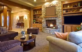 warm design wohnzimmer mit kamin 4 arten geräten