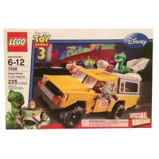 100 Pizza Planet Truck LEGO 7598 Toy Story Rescue New Retired Set Bent