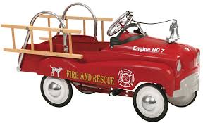 100 Fire Truck Cozy Coupe InSTEP Pedal S Wayfair