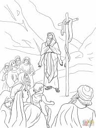 Gallery Of Baby Moses Print Miriam Coloring Sheets Pages And The Exodus In Parting Red Sea Page