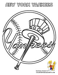 Mlb Coloring Pages Baseball Major League Sheets