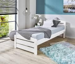 weißes kinder und jugendbett aus kiefernholz