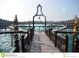 100 Taj Exotica Resort And Spa Hotel In The Maldives Stock Image