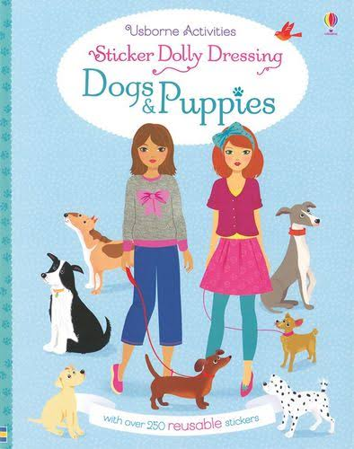 Sticker Dolly Dressing Dogs and Puppies [Book]