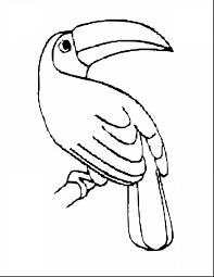 black and white bird clip art OurClipart