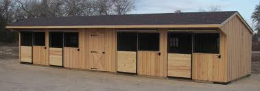 Shed Row Barns Texas by Horizon Structures 10x40 Shedrow Style Horse Barn With 10