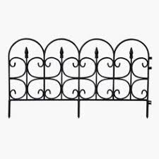 Decorative Garden Fence Home Depot by 18 In Steel Jasmine Classic Border Garden Fence 060018 The Home