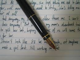 Writing Samples Parker 75