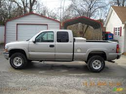 2000 Chevrolet Silverado 2500 LS Extended Cab 4x4 In Light Pewter ... 2000 Chevrolet Silverado 2500 74l 4x4 2001 Z71 Personal 6 Rcx Lift Ntd 20 Ls Pickup Truck Item I9386 Hd Video Chevrolet Silverado Sportside Regular Cab Red For Used Chevy S10 Trucks Truck Pictures 1990 Classics For Sale On Autotrader 1500 Extended Cab 4x4 In Indigo Blue Malechas Auto Body Regular Metallic 2015 Double Pricing For Rear Dually Fenders Lowest Prices Biscayne Sales Preowned