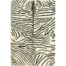 Modern Zebra Print Rug Shades Of Light