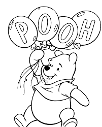 Awesome Free Printable Winnie The Pooh Cartoon Coloring Books For Kids
