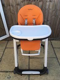 100 Perego High Chairs Peg Siesta Chair Orange In Colliers Wood London