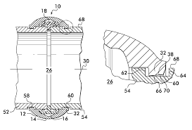 Dresser Couplings For Ductile Iron Pipe by Patent Us8267432 Coupling Having Angularly Oriented Key Surfaces