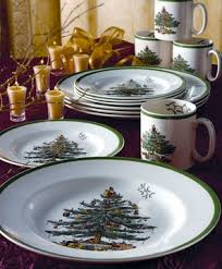 Spode Christmas Tree Mugs With Spoons by Spode Christmas Tree Dinnerware Up To 75 Percent Off