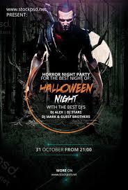 Free Halloween Flyer Templates by Halloween Flyer Template Psd Mentan Info