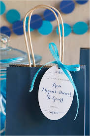 Bridal Shower Spa Favor Bags