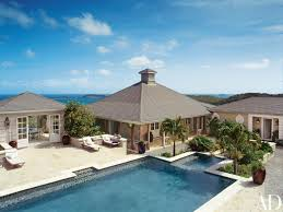 On The Caribbean Island Of Mustique A 7000 Square Foot Colonial Style