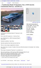 For $14,199, Yup, That's A 1959 Lincoln Continental Mark IV Ranchero Used Cars Nj By Owner Photos That Really Extraordinary Autojosh Ford F350 Lifted Sara Custom Sema Show Las Vegas Craigslist Alburque Craigs And Trucks By For Sale Youtube Union Truck Driving Jobs In Best Resource Of Twenty Images Florida Moneygram Awesome Photo Taken At La Carreta Lake County Fl Homes For Sale Uk Bank Owned Las Mobile Mechanics Top Picks Class B Chevy 2019 20 New Car Specs List Corner