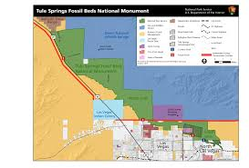Tule Springs Fossil Beds National Monument by Maps U S National Park Service