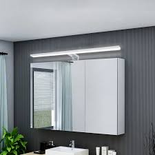details zu 12w led spiegelleuchte neutralweiß schminklicht bad aufbau le ip44 60cm