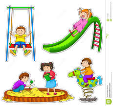 Children Playing Outside Clipart Png