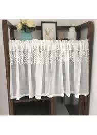 gardine aus voile voile vorhänge mit weißer drapierung