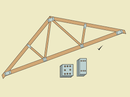 100 House Trusses How To Build A Simple Wood Truss 15 Steps With Pictures