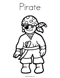 0107d Pirate Ship Coloring Pages